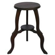 EXP Acacia 24'' End Table; Black