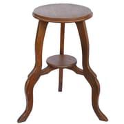 EXP Acacia 24'' End Table; Walnut