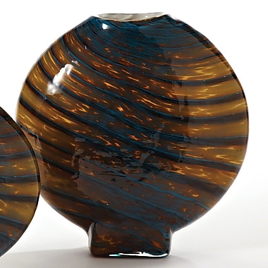 Global Views Swirl Vase; Large