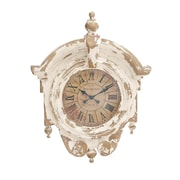 Woodland Imports The Impactful Fiberglass Wall Clock