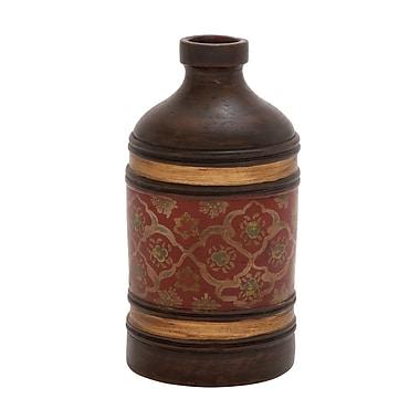Woodland Imports The Gem Terracotta Bottle Vase
