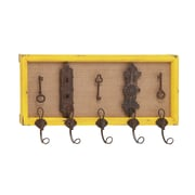 Woodland Imports Attractive Fascinating Wood Wall Hook