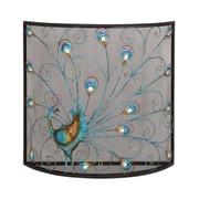 Woodland Imports Bird Metal Fireplace Screen