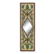 Woodland Imports The Floral Wall Mirror