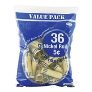 Bazic 36 Ct. Coin Wrappers (Set of 50); Nickel