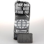 GMT Industrial Quality Steel Wool Hand Pad, Medium Coarse - 16/Pack
