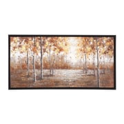 Woodland Imports The Brilliant Wood Frame Painting Print on Canvas