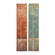 Woodland Imports Contemporary Styled Original Painting on Canvas (Set of 2)