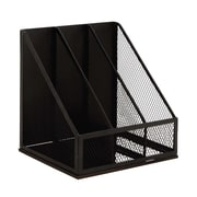 Woodland Imports Attractive Metal Magazine Rack