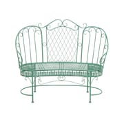 Woodland Imports The Elegant Metal Love Arm Chair