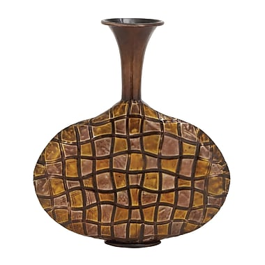 Woodland Imports The Funky Metal Vase