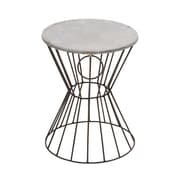 Woodland Imports Classy Beautiful Metal Stool