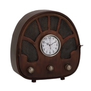 Woodland Imports Fascinating Styled Berlin Metal Table Clock