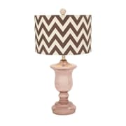 Woodland Imports 26'' Table Lamp; Brown