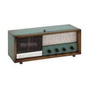 Woodland Imports Connect With Metal Radio Box Decor