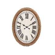 Woodland Imports 26'' Fascinating Wood Rowall Clock