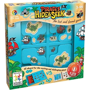 SmartGames Pirates Hide & Seek Puzzle Game, Multilingual