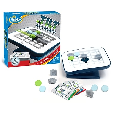 Thinkfun Tilt Teetering Logic Maze Game, Multilingual