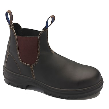Blundstone Leather Chelsea Safety Boot, Black