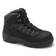 Blundstone Nubuck Leather Black Lace-Up Safety Boot 12