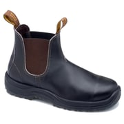 Blundstone Leather Men's Steel-Toed Boot, Stout Brown 13