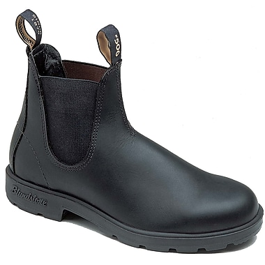 Blundstone Leather Slip On Boot, Black 11