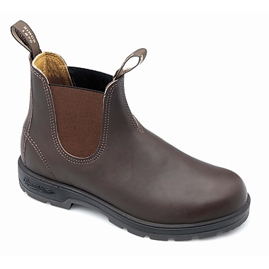 Blundstone Leather Slip On Boot, Brown 6.5