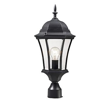Z-Lite Wakefield (522PHM-BK) , Outdoor Post Light, 9.5