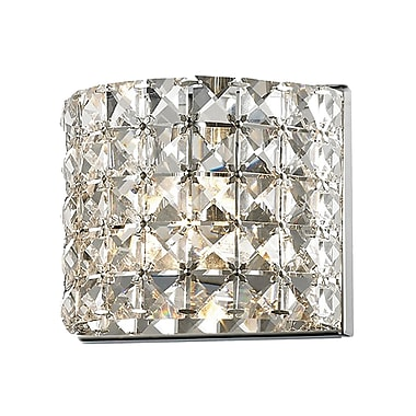 Z-Lite Panache (867-1S) 1 Light Crystal Vanity Light, 3.54