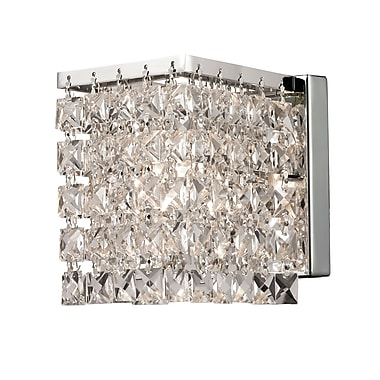 Z-Lite Waltz (184-1S) 1 Light Wall Sconce, 4.75