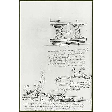 Transmission de la puissance par de Vinci, 24 x 36 po