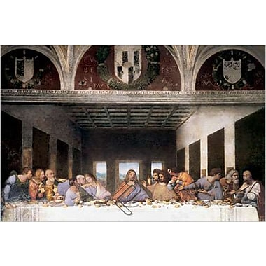 The Last Supper by Da Vinci, Canvas, 24
