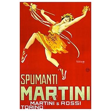 Spumanti de Martini & Rossi, toile tendue, 24 x 36 po