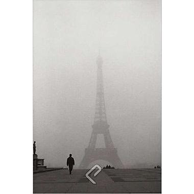 La Tour Eiffel de Paris, toile tendue, 24 x 36 po