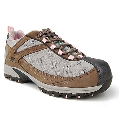 Moxie Trades Bobbi Ladies CSA/ESR Metal Free Athletic Safety Runner, Size 9, Taupe