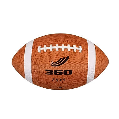360 Athletics Sponge Rubber Cellular Composite Football, 9