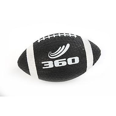 360 Athletics Rubber Grippy Football, Black