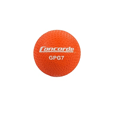 Concorde Grippy Rubber Playball Size 7, Orange