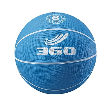 360 Athletics Playground Colors Rubber Basketball 5