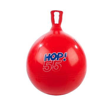 Gymnic Soft Vinyl Hop Ball, Red