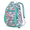 High Sierra Ripstop Curve Backpack Native Heart, Aquamarine & White