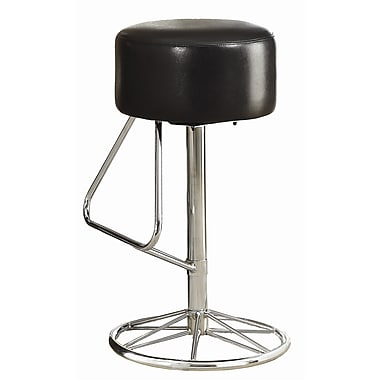 Wildon Home 29.75'' Swivel Bar Stool with Cushion