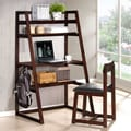 Wildon Home   Leaning Shelf Desk