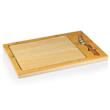 Picnic Time Icon Cutting Cheese Tray