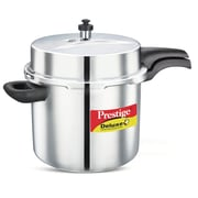 Prestige Cookers Deluxe Stainless Steel Pressure Cooker; 10.57 Quart