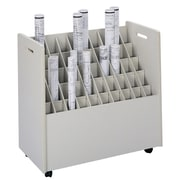 Safco Products Mobile Roll Files Filing Cart