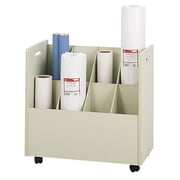 Safco Products Mobile Roll File Filing Cart (Set of 2)