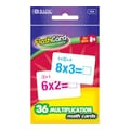 Bazic Multiplication Flash Cards; Case of 24