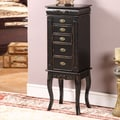 Wildon Home   Morrel 6 Drawer Jewelry Armoire with Mirror