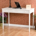 Wildon Home   Hull Crisp White 2-Drawer Writing Desk